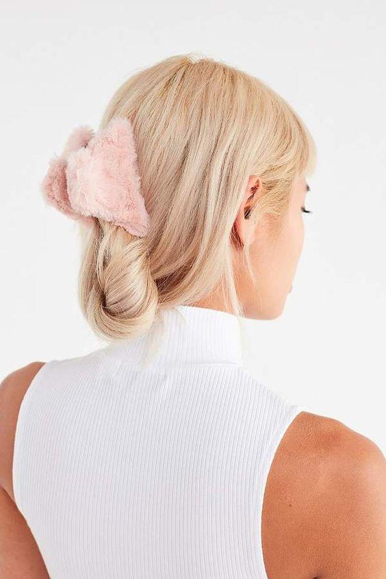 Acessórios para cabelo presilha fofa