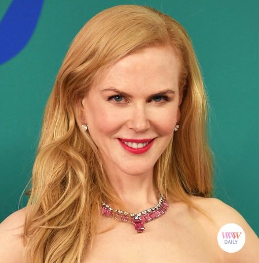 Joias Rosa colar Nicole Kidman