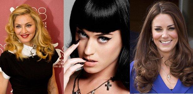 Acessorios religiosos celebridades