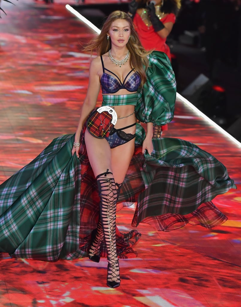 Angels do Victoria Secret 2018 Gigi Hadid colar