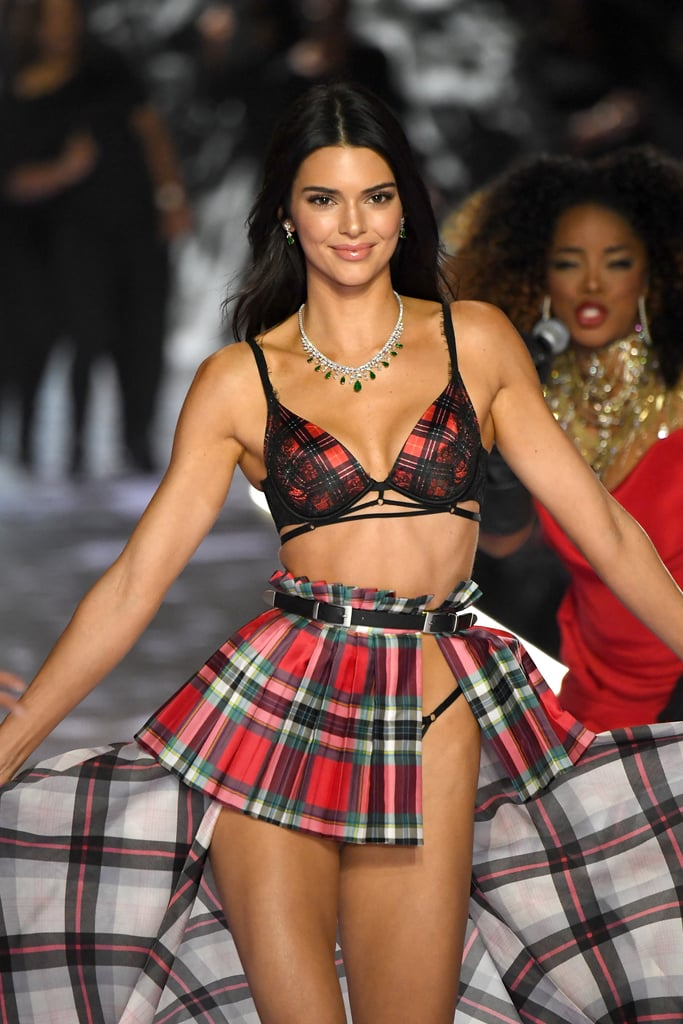 Angels do Victoria Secret 2018 Kendall Jenner colar