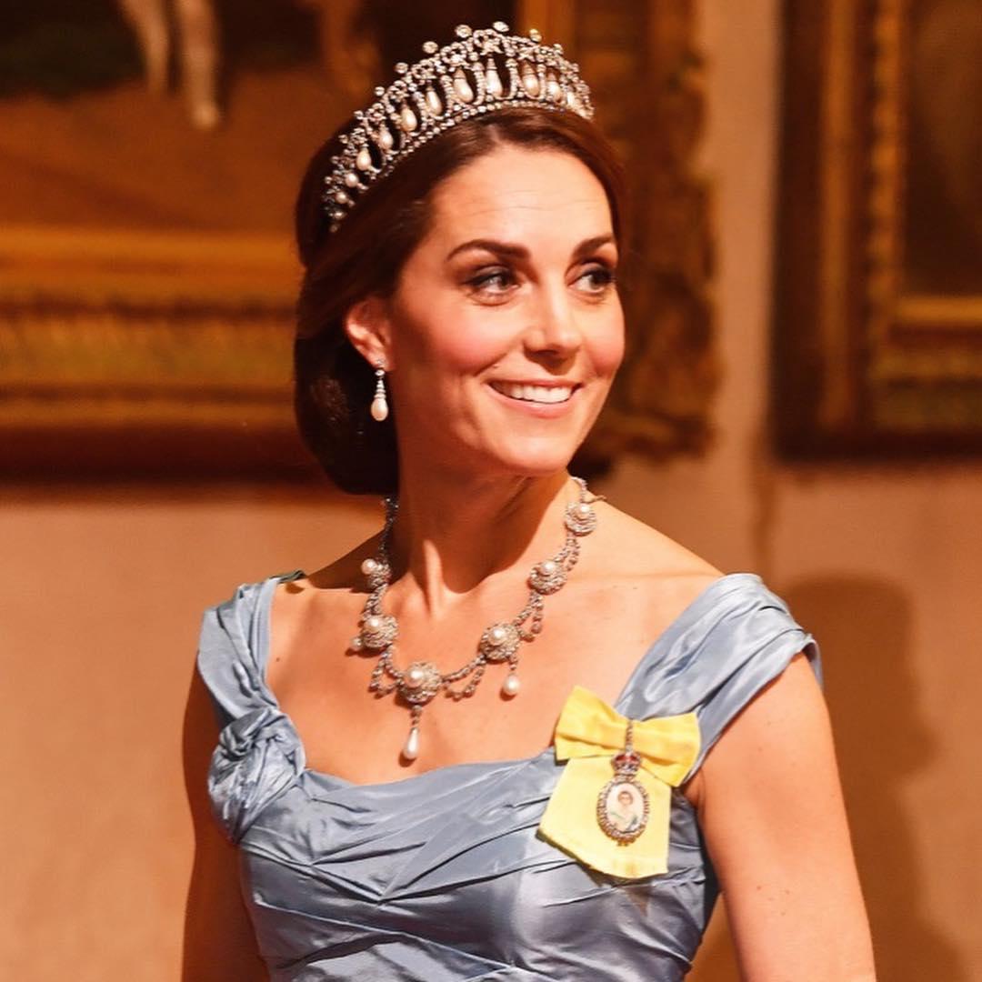 Kate middleton usa tiara lover's knot