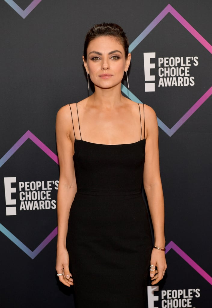 People Choice Awards Red Carpet Mila Kunis