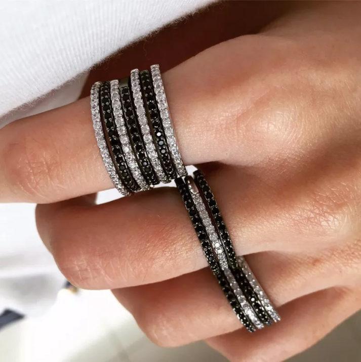 Anéis empilhados