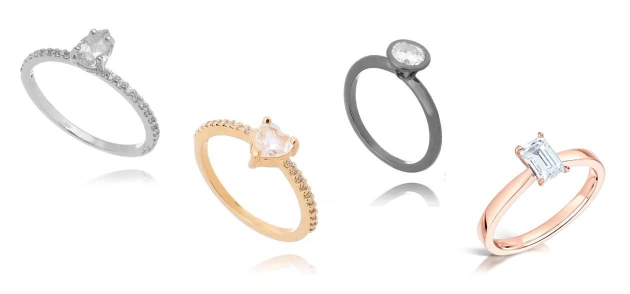 Como combinar anel com esmalte banhos