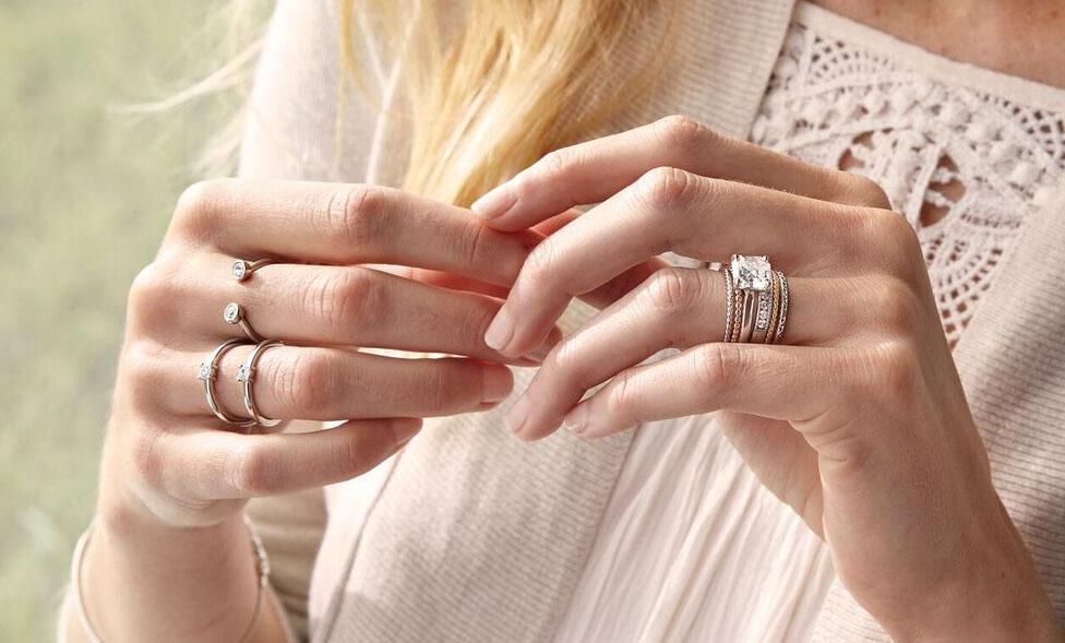 Como usar anéis vários