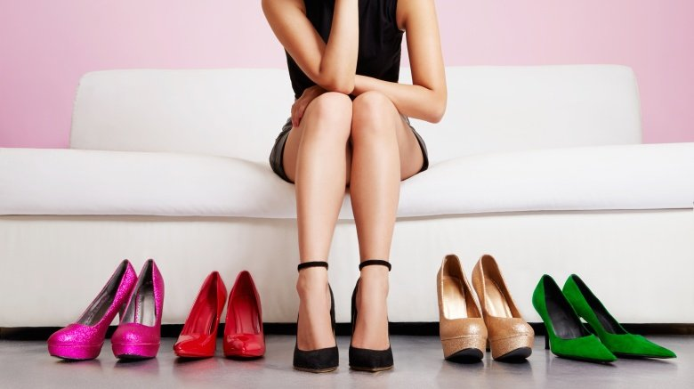 Ideias de presente de natal para esposa sapatos
