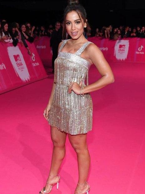 Looks do Europe Music Awards Anitta
