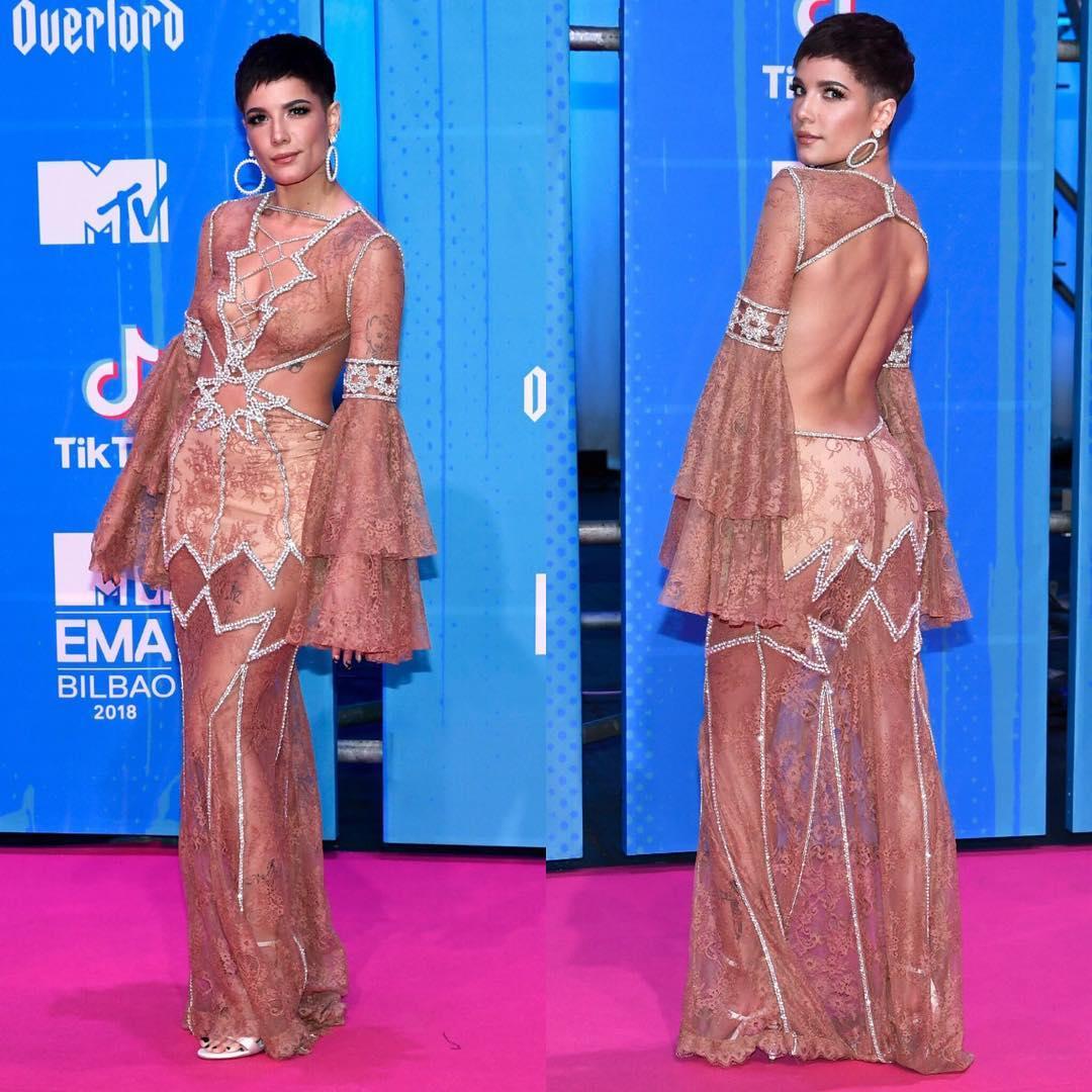 Looks do Europe Music Awards Halsey