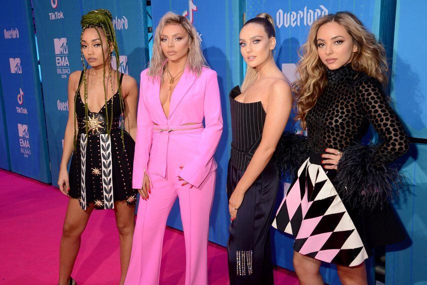 Looks do Europe Music Awards Little Mix