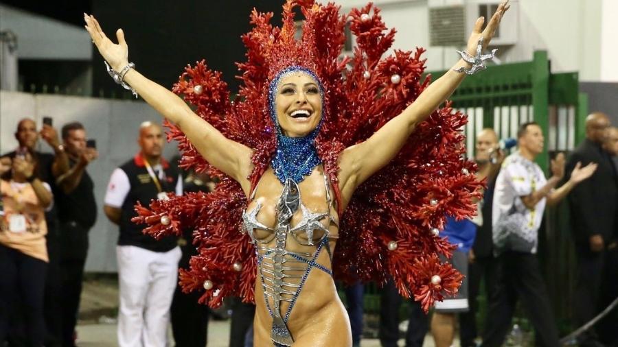 Sabrina Sato carnaval
