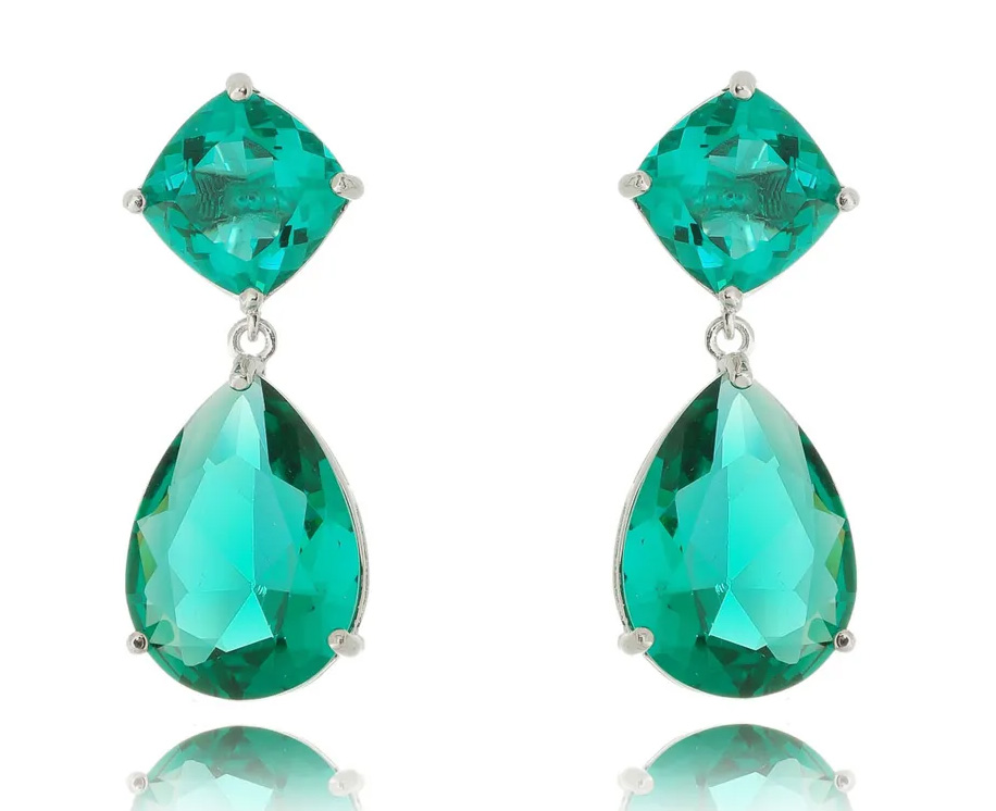 Semi joias de luxo brinco angelina Jolie