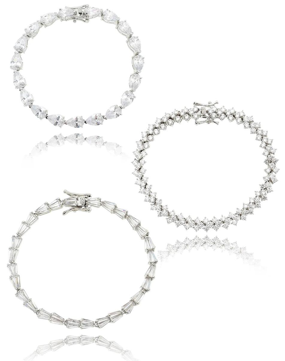 Semi joias de luxo pulseiras riviera
