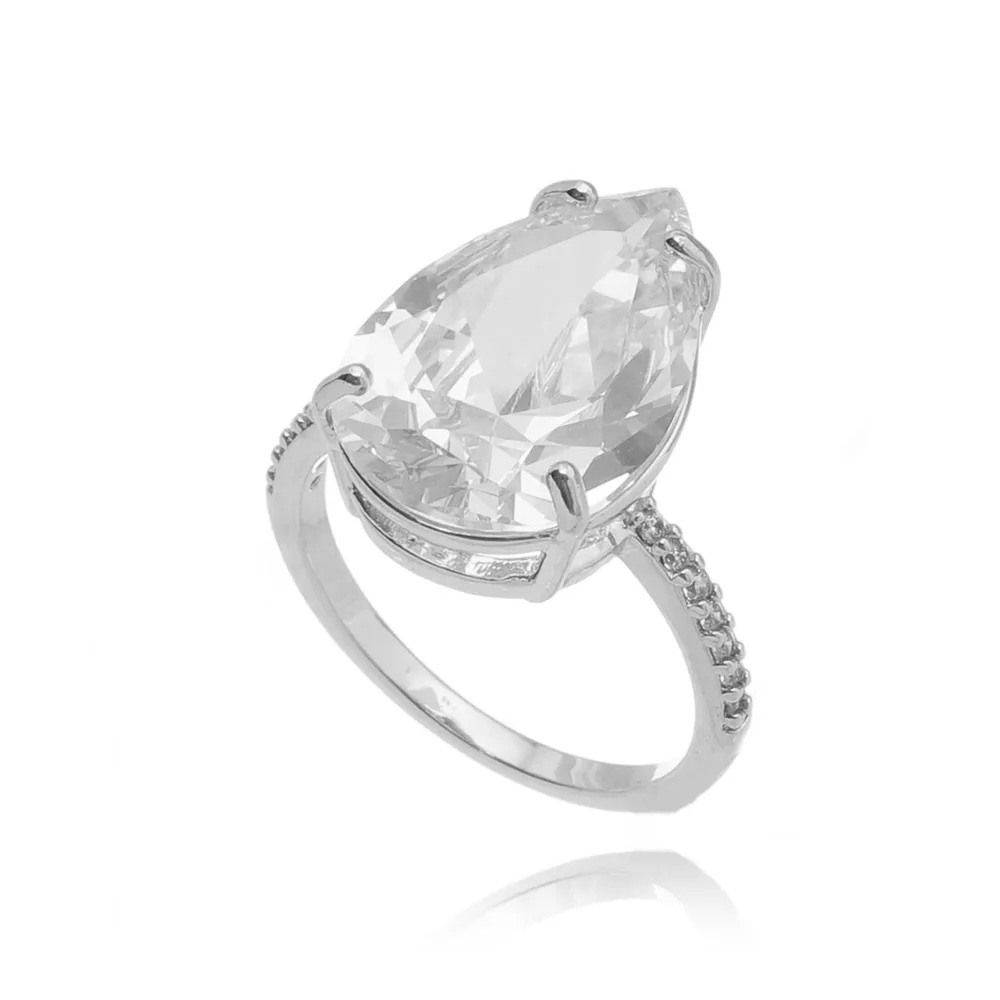 Semi joias luxuosas anel