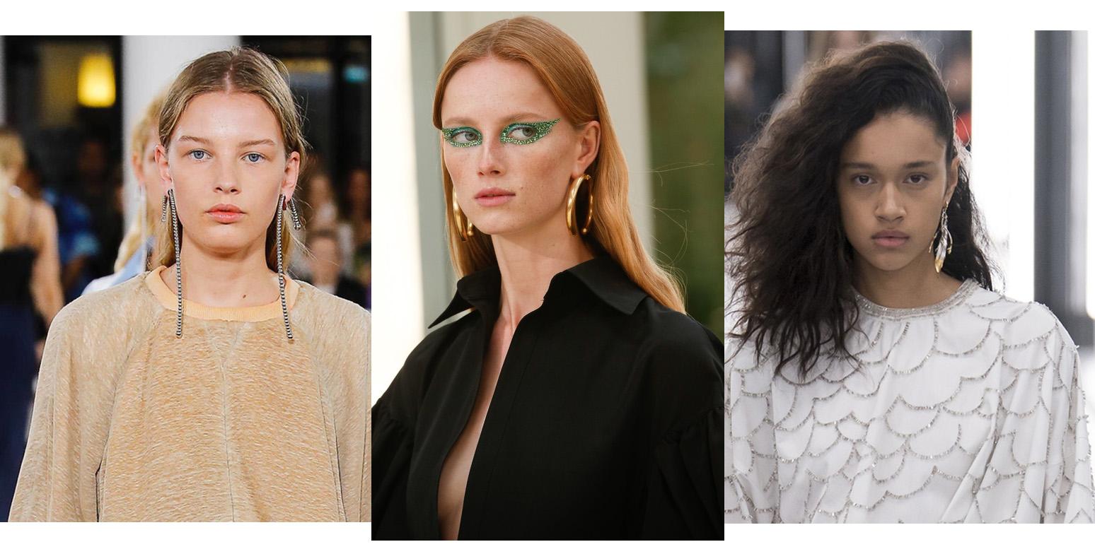 tendências de brincos da moda 2019