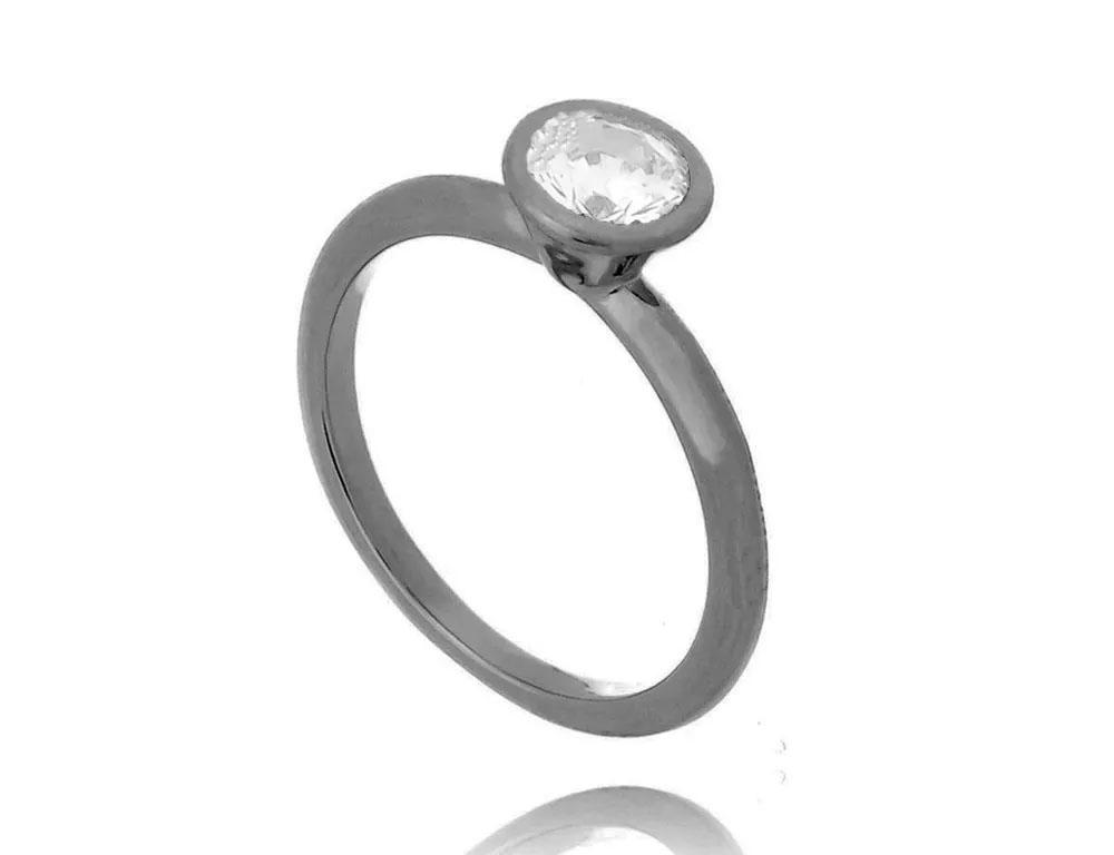 presentes amigo secreto anel rodio negro