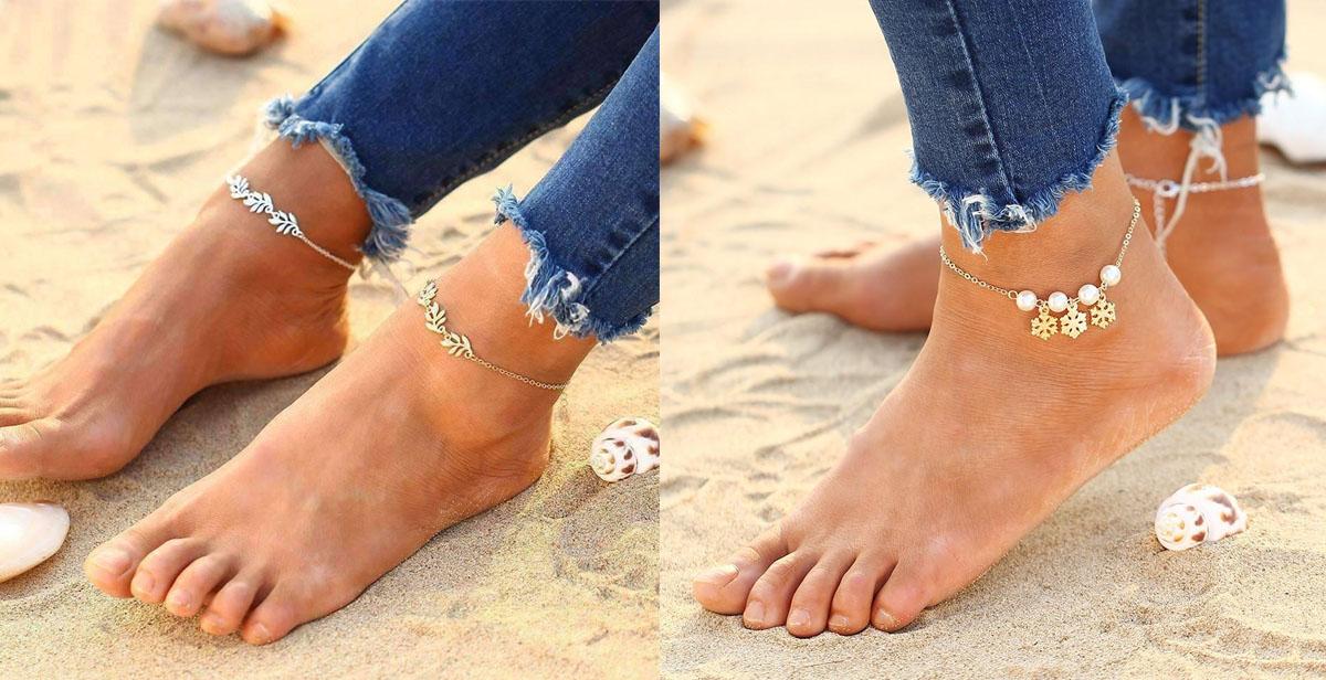 tornozeleiras para verao