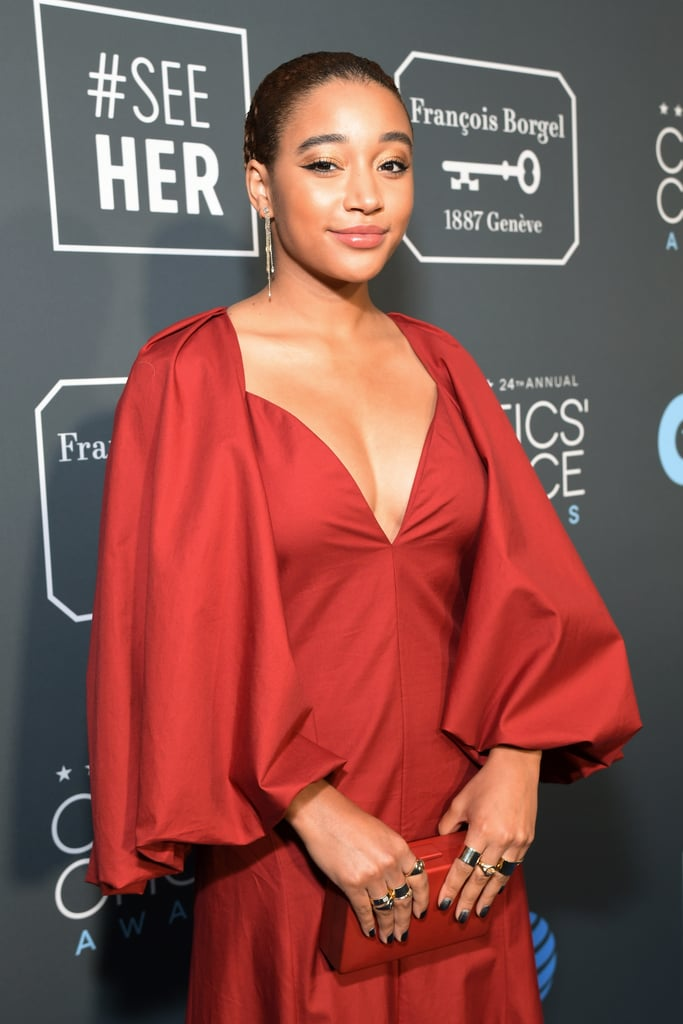 Critics Choice Awards 2019 Amandla Stenberg Aneis