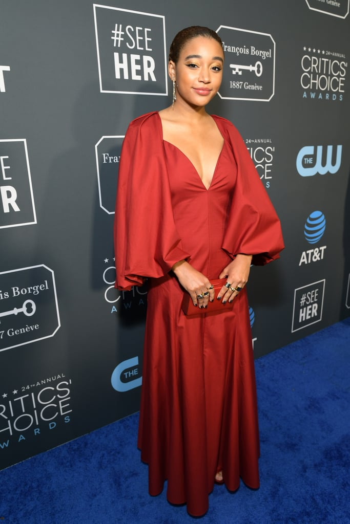 Critics Choice Awards 2019 Amandla Stenberg