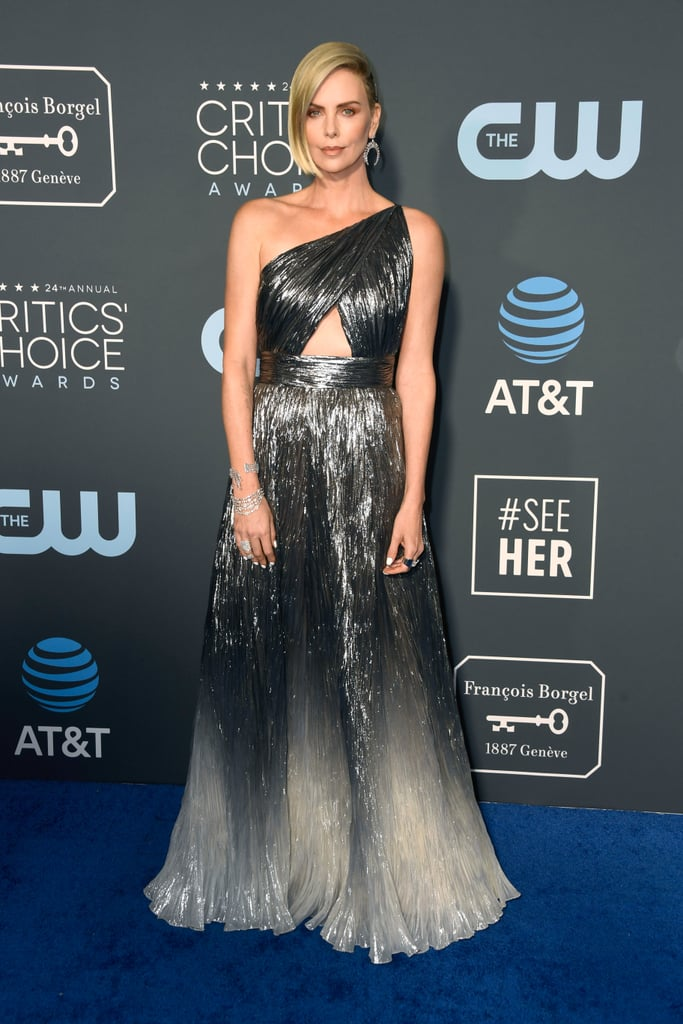 Critics Choice Awards 2019 Charlize Theron