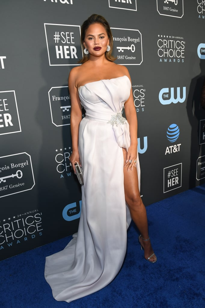 Critics Choice Awards 2019 Chrissy Teigen