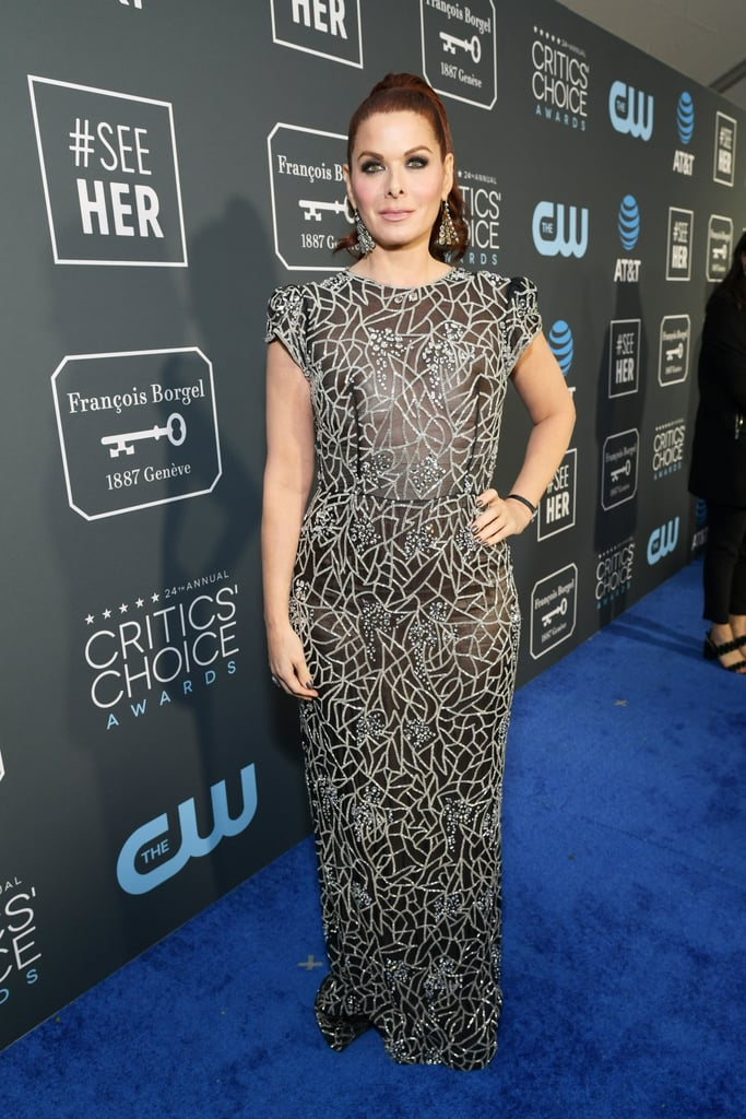 Critics Choice Awards 2019 Debra Messing Brincos