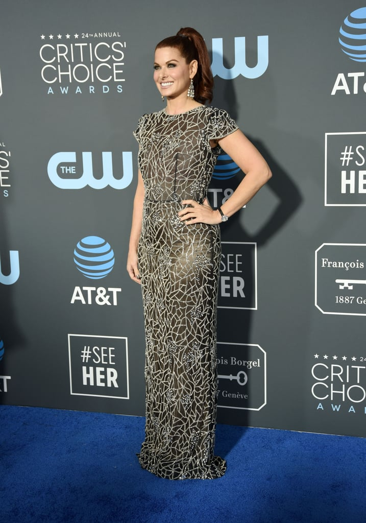 Critics Choice Awards 2019 Debra Messing