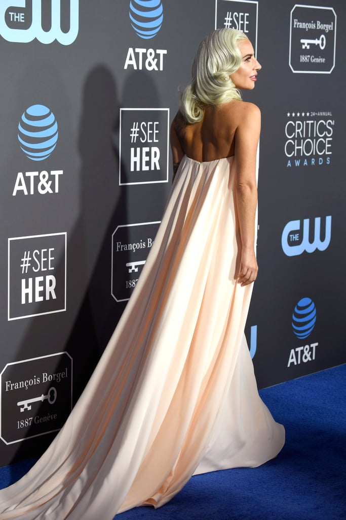 Critics Choice Awards 2019 Lady Gaga Vestido