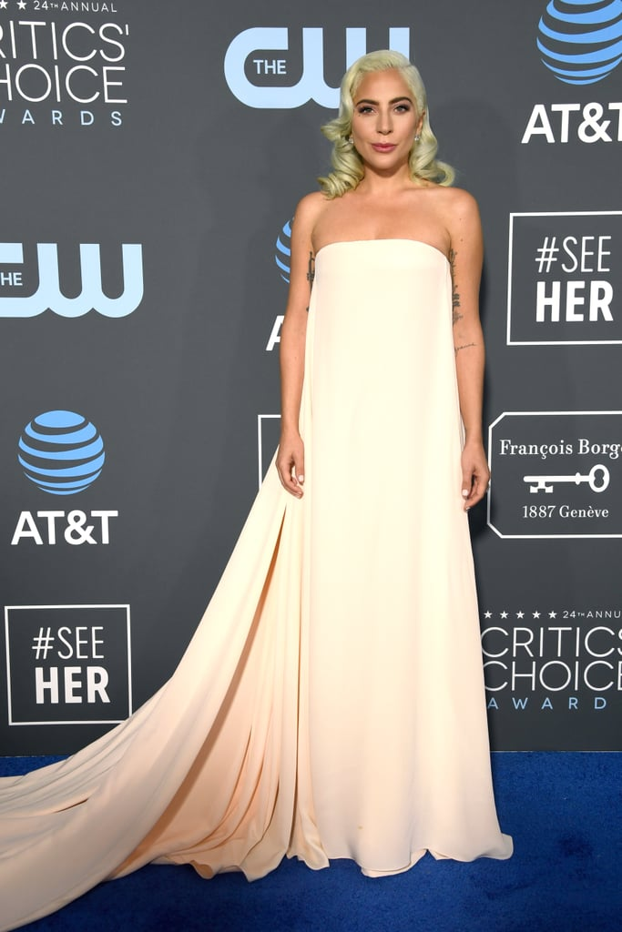 Critics Choice Awards 2019 Lady Gaga