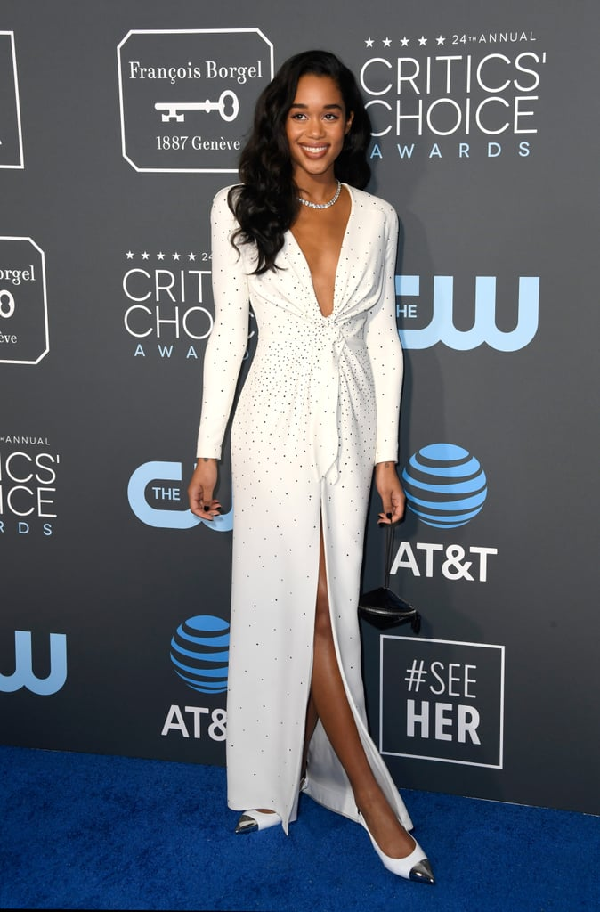 Critics Choice Awards 2019 Laura Harrier