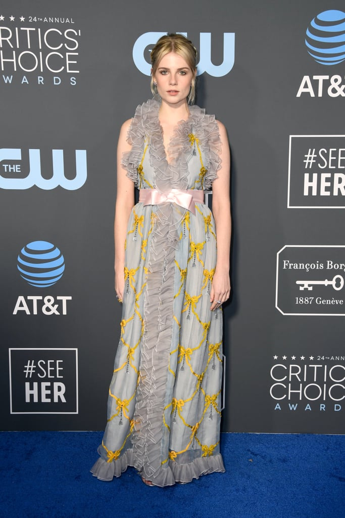 Critics Choice Awards 2019 Lucy Boyton