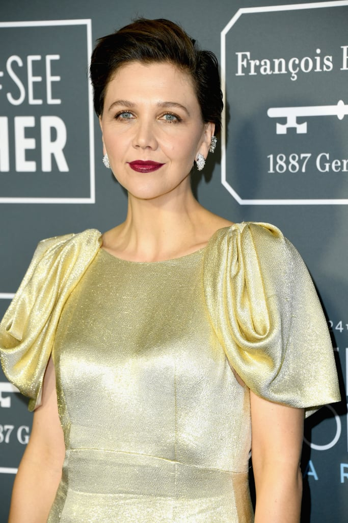 Critics Choice Awards 2019 Maggie Gyllenhaal Brincos