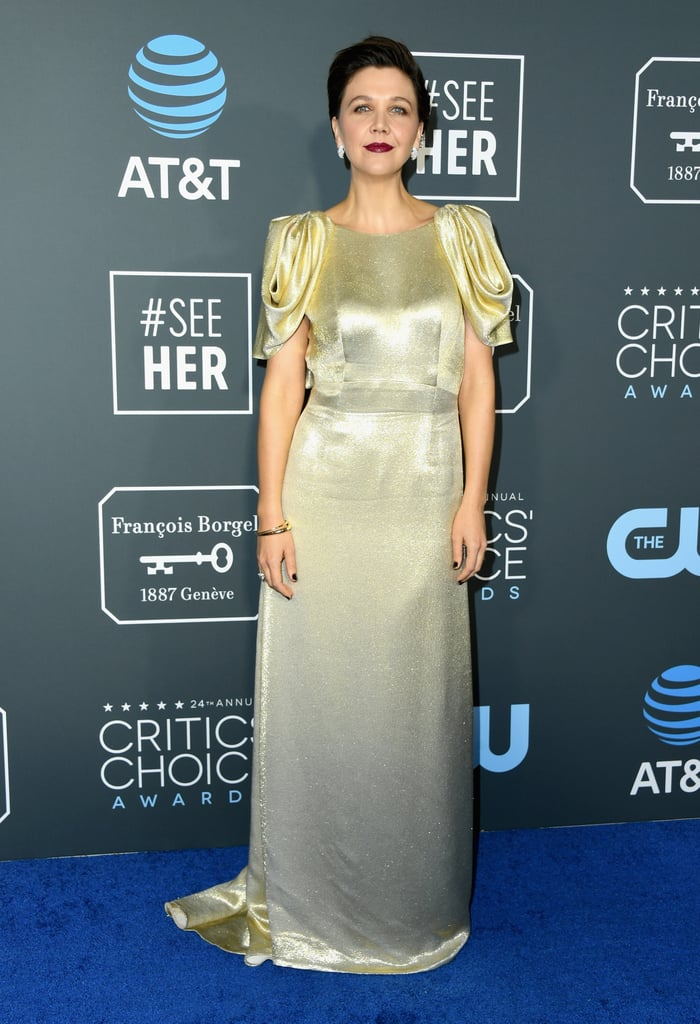 Critics Choice Awards 2019 Maggie Gyllenhaal