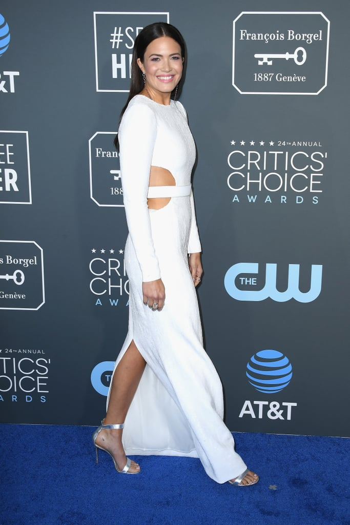 Critics Choice Awards 2019 Mandy Moore Joias