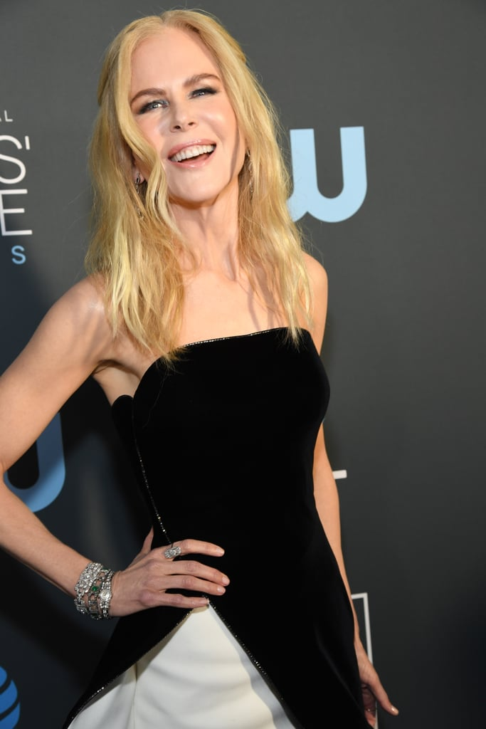 Critics Choice Awards 2019 Nicole Kidman Joias