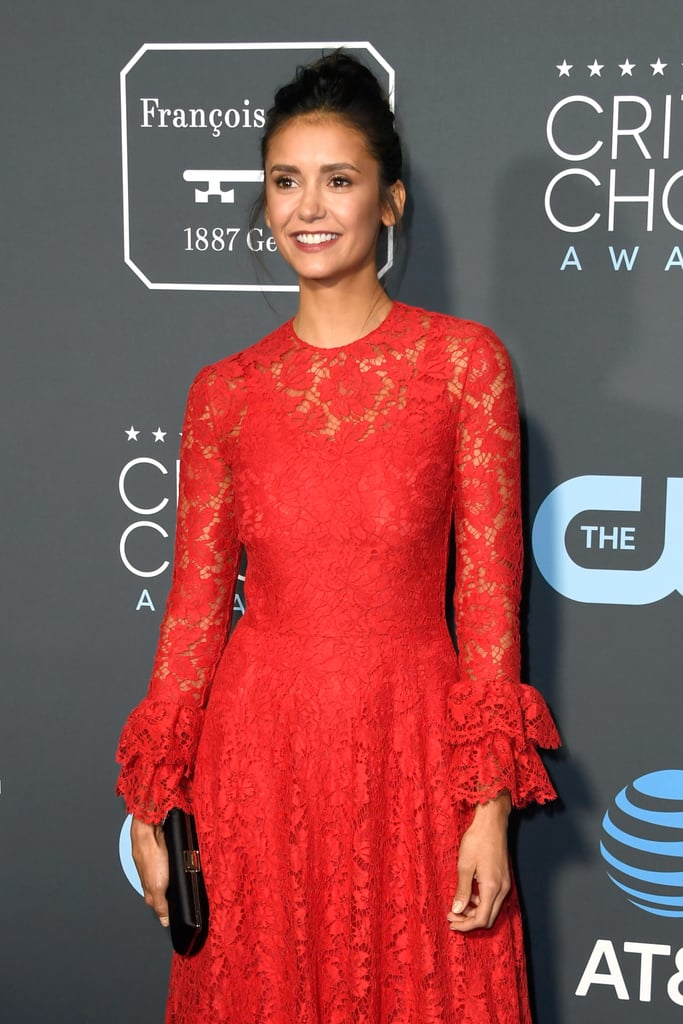 Critics Choice Awards 2019 Nina Dobrev Vestido