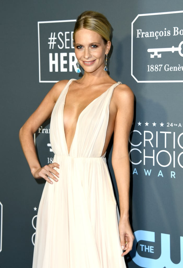 Critics Choice Awards 2019 Poppy Delevingne Brincos