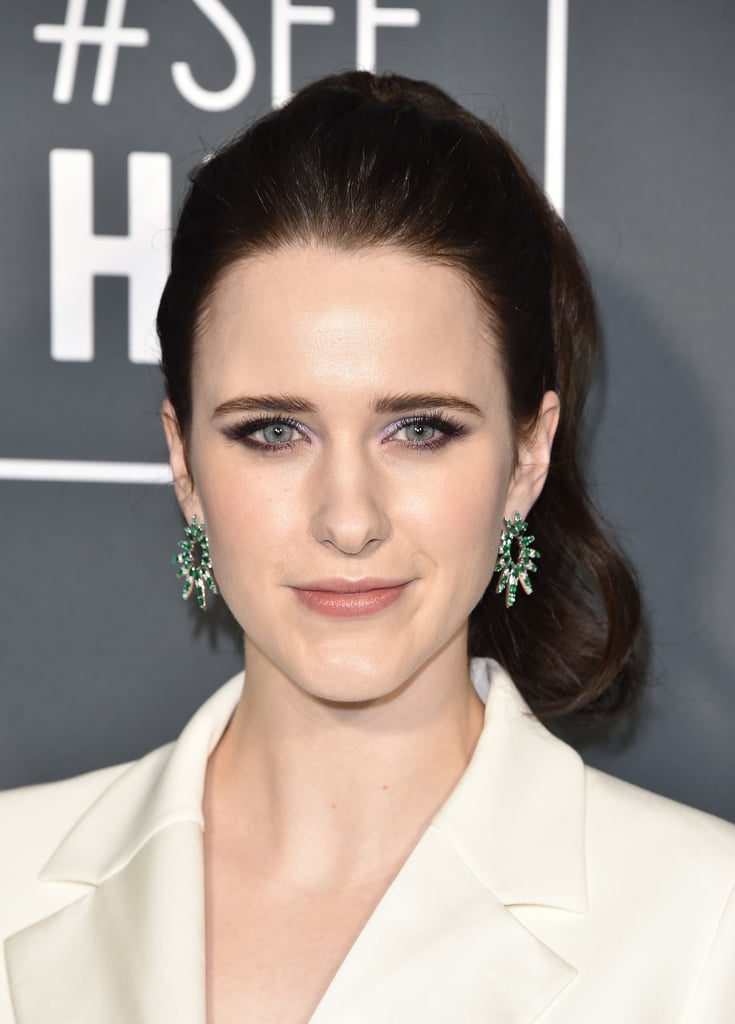 Critics Choice Awards 2019 Rachel Brosnahan Brincos
