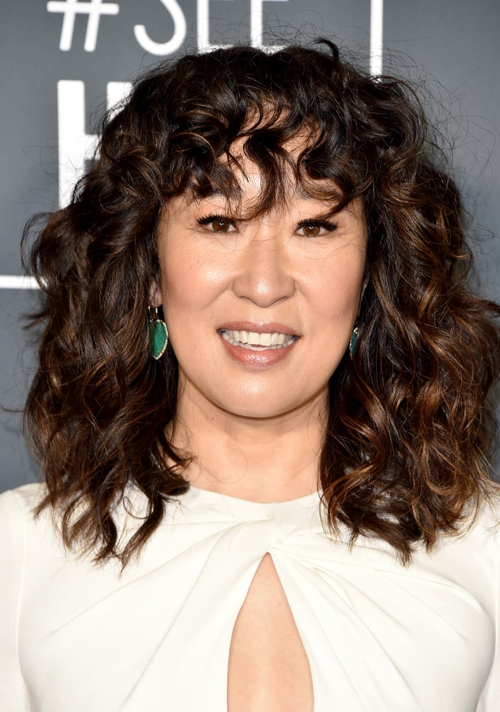 Critics Choice Awards 2019 Sandra Oh Brincos