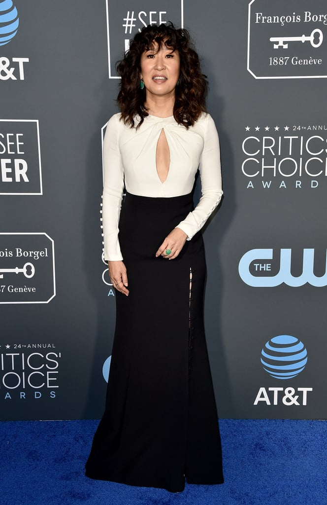 Critics Choice Awards 2019 Sandra Oh