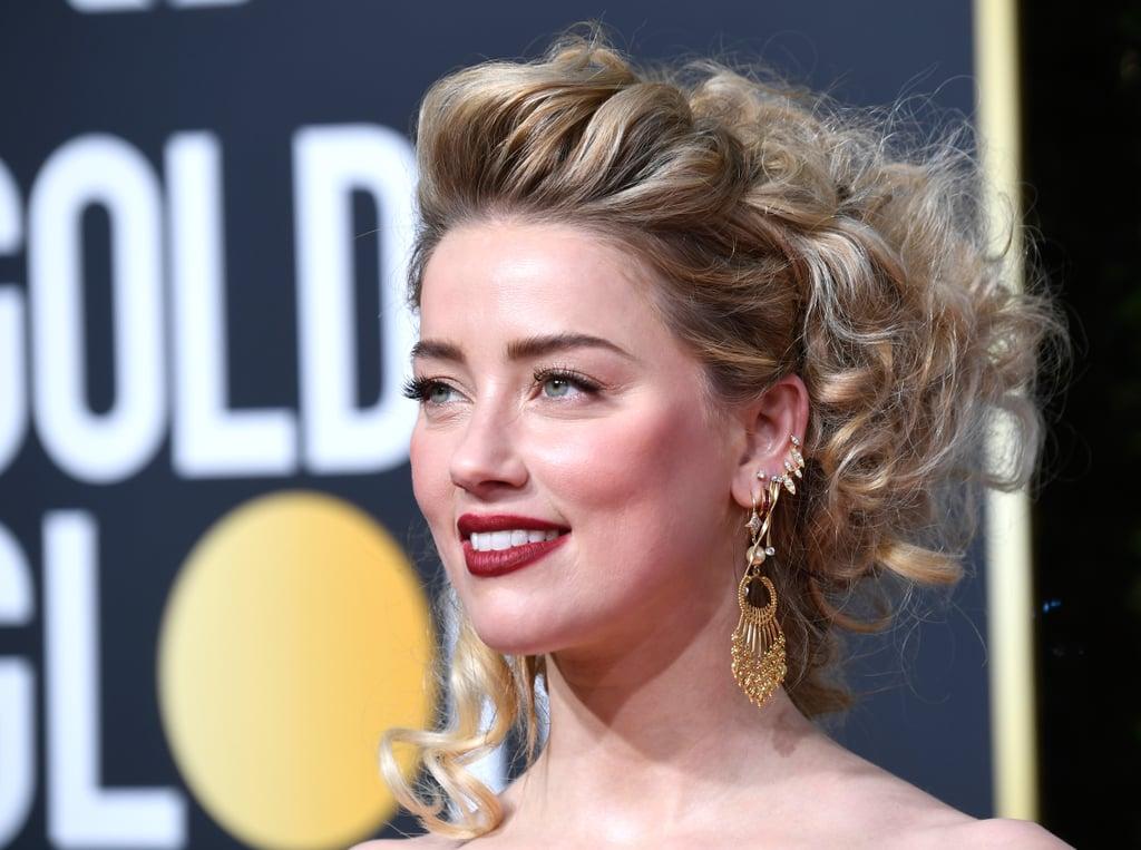 Globo de Ouro 2019 Amber Heard Joias