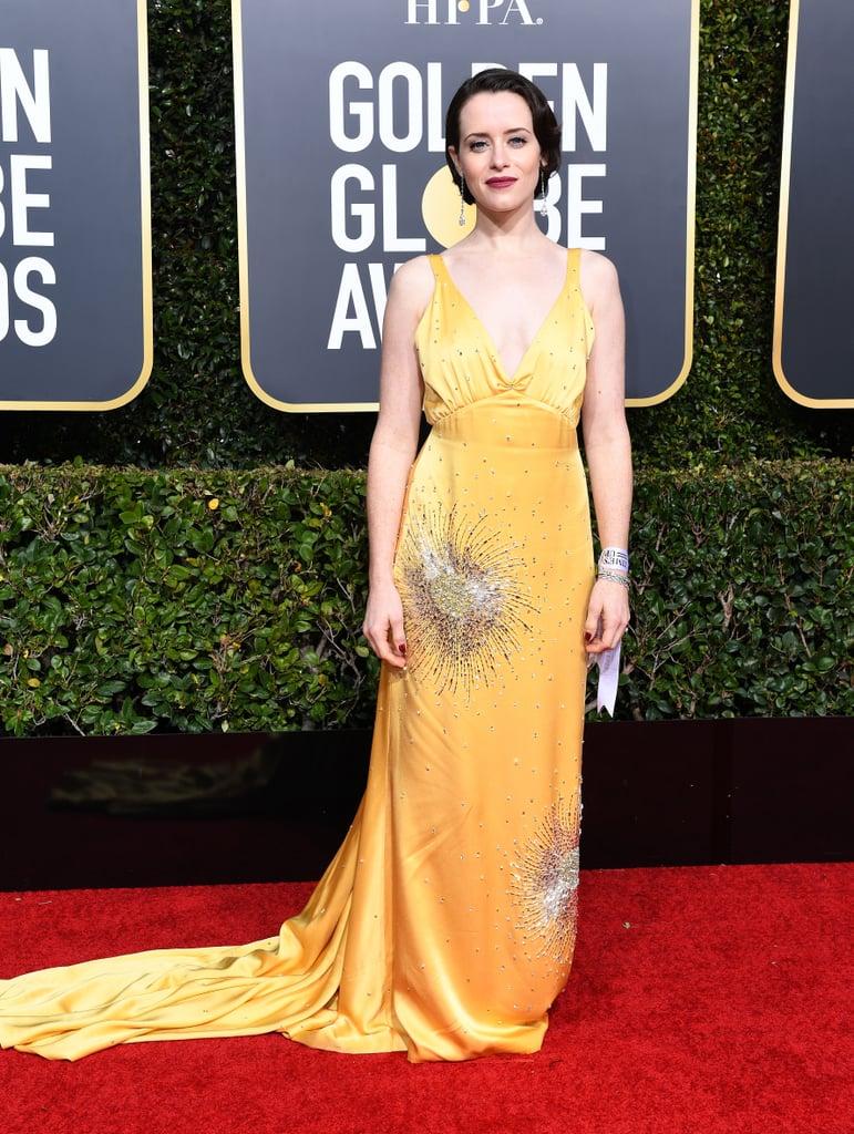 Globo de Ouro 2019 Claire Fox Miu Miu