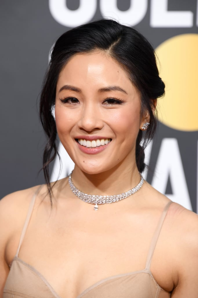 Globo de Ouro 2019 Constance Wu Colar
