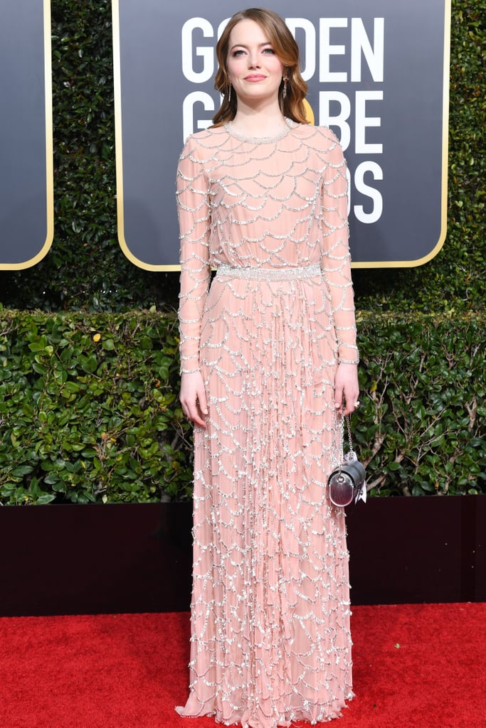 Globo de Ouro 2019 Emma Stone