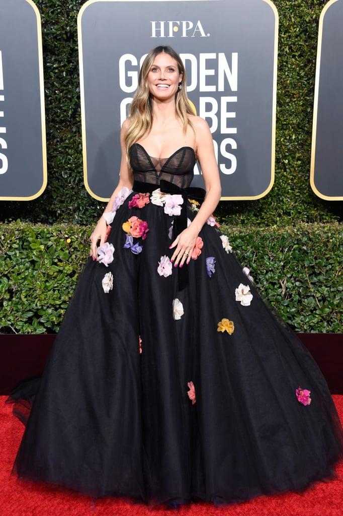 Globo de Ouro 2019 Heidi Klum
