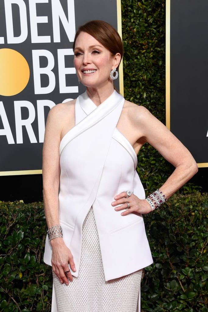Globo de Ouro 2019 Julianne Moore joias