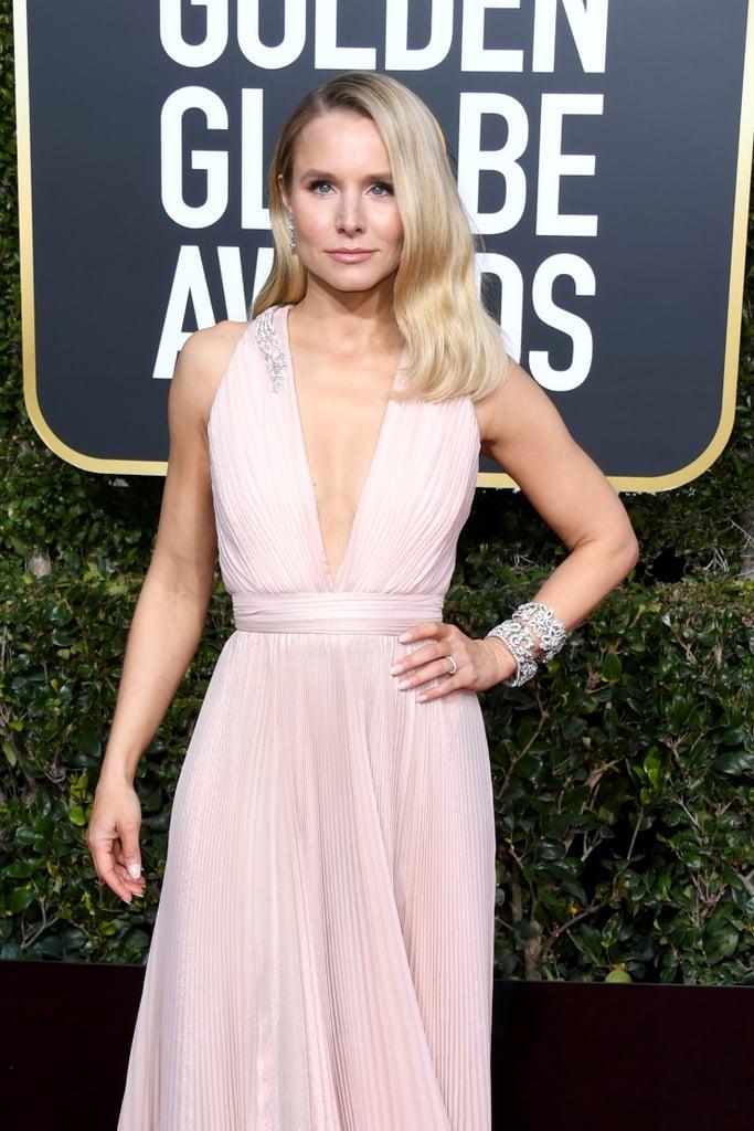 Globo de Ouro 2019 Kristen Bell Joias