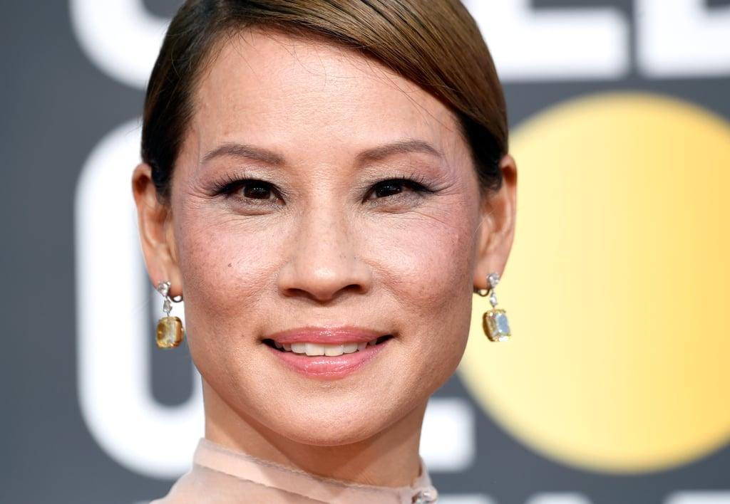 Globo de Ouro 2019 Lucy Liu Joias