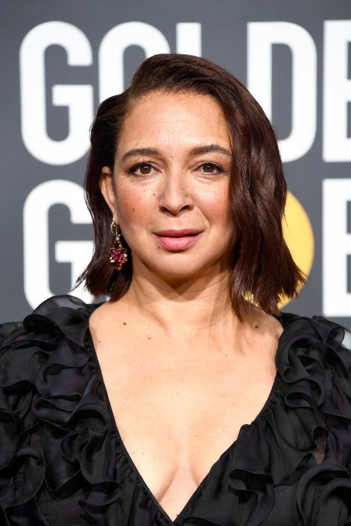 Globo de Ouro 2019 Maya Rudolph brincos
