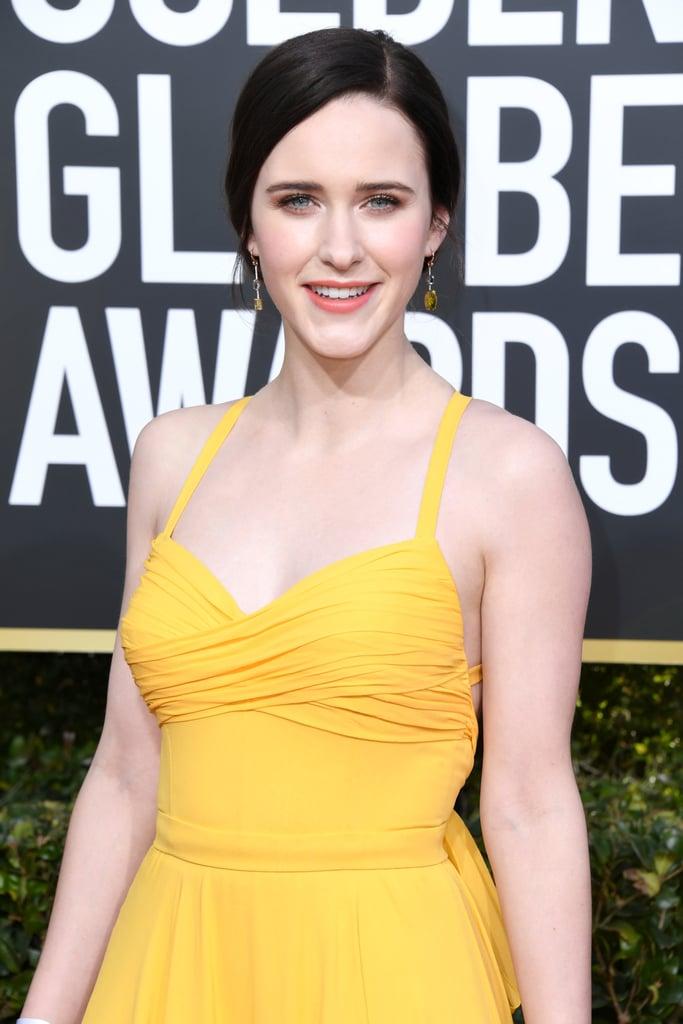 Globo de Ouro 2019 Rachel Brosnahan joias